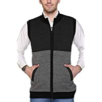 aarbee Sleeveless Zipper Sweater for Men