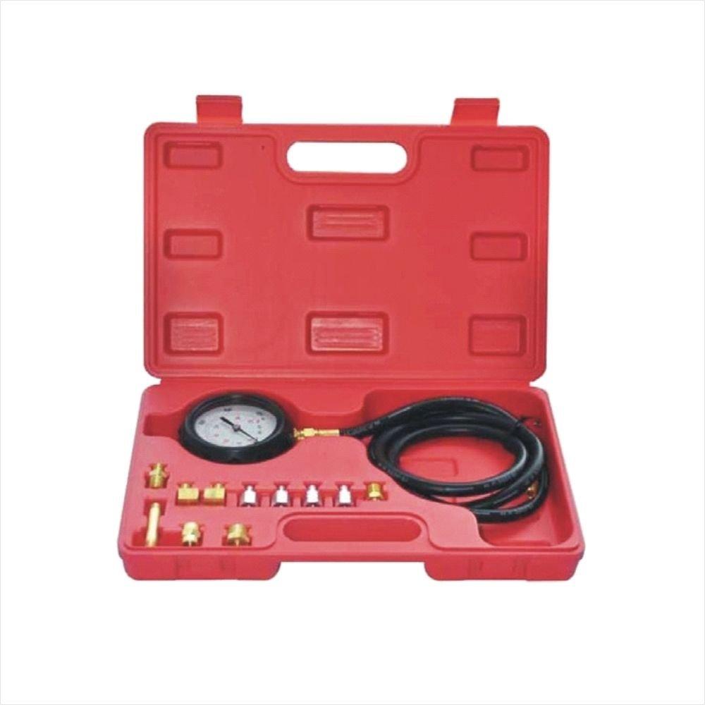 14 piece Engine Oil Pressure Tester Test Gauge Diagnostic Test Tool Set Kit by Jecr (Image #6)