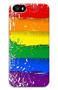 iphone 4 4s Cases - Scratch Protection 3D Print Hard Case for iphone 4 4s Painting Lgbt Flag Thin Fit Hard Back Case for iphone 4 4s