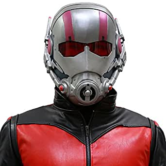 XCOSER Super Ant Helmet Full Head Mask Props for Halloween Classic