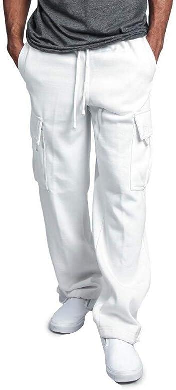 Buyaole, Pantalones Elasticos Hombre, Vaqueros De Hombre, Camiseta ...