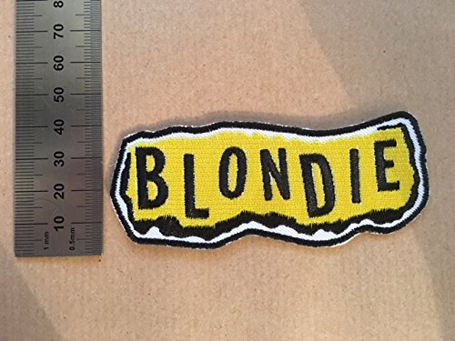 ECUSSON PATCHES AUFNAHER TOPPA BLONDIE THERMOCOLLANT
