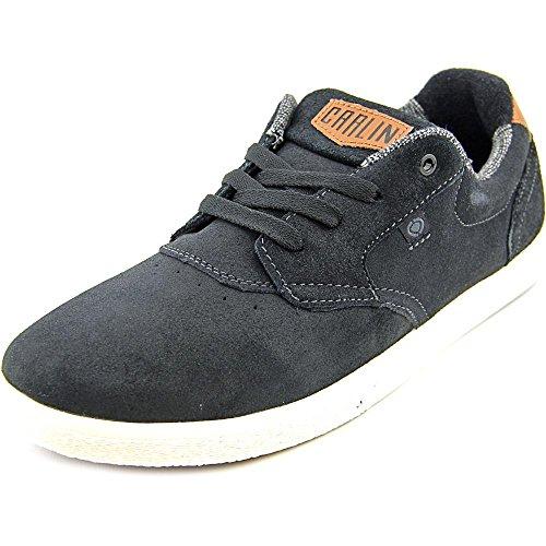 C1RCA Men's JC01 Skate Shoe, Black/Dark Shadow, 7 M US