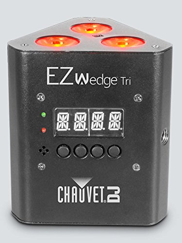 CHAUVET DJ EZwedge Tri Battery-Operated Tri-Color LED Wash Light w/Infared Remote Control by CHAUVET DJ (Image #2)