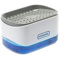 Washanwer 🧼 Dispensador de jabon para Lavado de trastes para Fregadero de Cocina, con Bomba de jabón automática y…