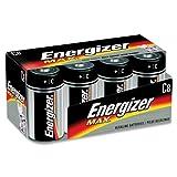 Wholesale CASE of 10 - Energizer Max Alkaline C Batteries-Energizer Alkaline Battery, ''C'' Size, 8/PK