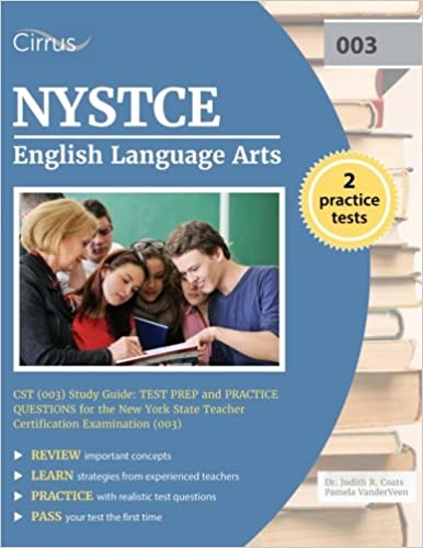 Nystce english language arts cst 003 study guide test prep and nystce english language arts cst 003 study guide test prep and practice questions for the new york state teacher certification examination 003 fandeluxe Gallery