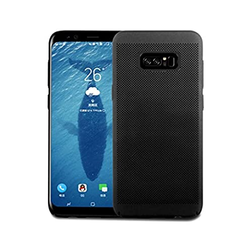 For Samsung Galaxy Note 8, Iusun Ultra Slim Tough Armor PC Case Protective Shell Back Cover For Samsung Galaxy Note 8 (Black, Samsung Galaxy Note (Iphone4 Tough Cases)