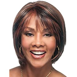 Vivica A. Fox CELIA-V New Futura Fiber, HAND-MADE, PS Cap Wig in Color P2216