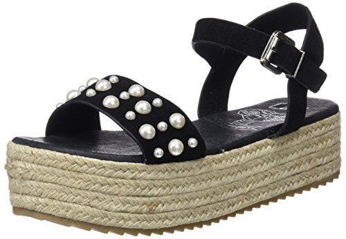 Femme nbk Noir Mini Coolway Sandales Plateforme qzgXgwt