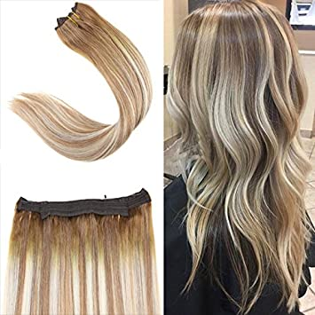 amazon com youngsee 14inch balayage ombre light brown mixed with