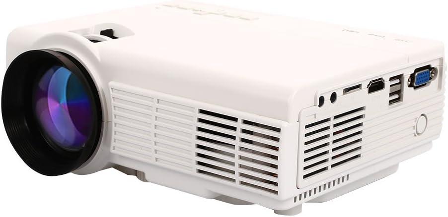 Hongfei Video Proyector LED Proyector HD with 3000 Lúmenes ...