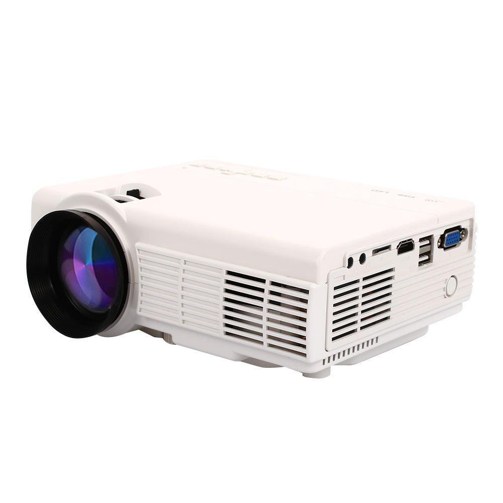 Proyector Multimedia Proyector de Video HD 1080P Bluetooth Oficina ...