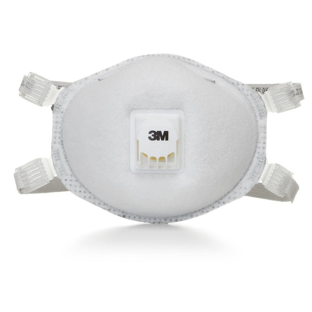 3M 8214 Particulate Respirator, N95, with Faceseal and Nuisance Level Organic Vapor Relief 80 EA/Case