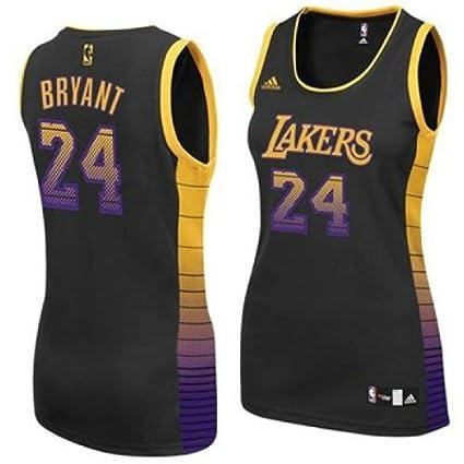 Amazon.com   Kobe Bryant Los Angeles Lakers  24 Women s NBA ... a5ef4e183b