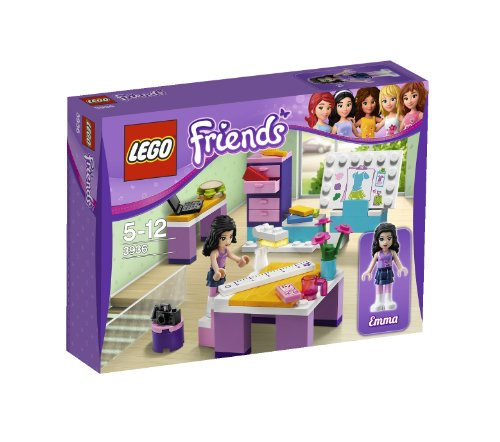 LEGO Friends Emmas Design Studio 3936 (Lego Friends Emma Design Studio)