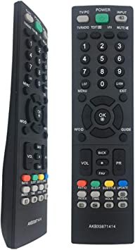 El Nuevo Control Remoto para TV AKB33871414 es Apto para LG ...