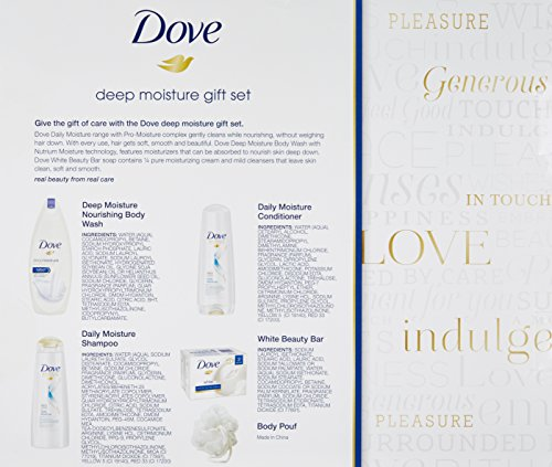 Dove Female Holiday Gift Set, Deep Moisture
