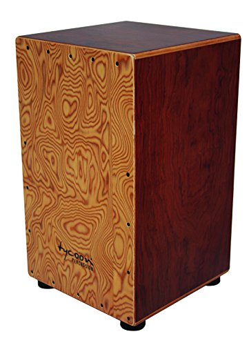 Tycoon Percussion 29 Series Bubinga Cajon With Makah Burl Front Panel