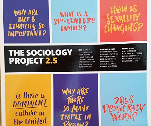The Sociology Project 2.5: Introducing the Sociological Imagination (2nd Edition)