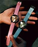 Generic Korean men watch women girls lady student Harajuku Korean casual retro minimalist couple tables x Belt girls