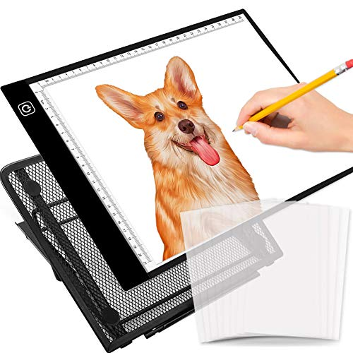 Selizo A4 Size LED Light Box Tracer with Stand and Tracing Paper for Diamond Painting Drawing Sketching Animation by Selizo