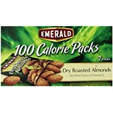 Emerald Dry Roast Almonds, 100 Calorie Pack, 4.34 Ounce Packages (Pack of 12)