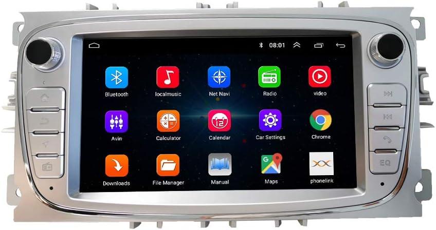 Android Autoradio Autonavigation Steuergerät Stereo Multimedia Player Geographisches Positionierungs System Radio Fürford Focus