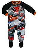 Disney Little Boys Planes Fire & Rescue Footed Pajama (3T)