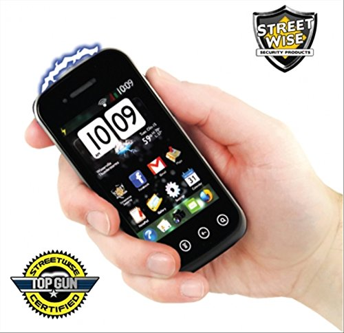 Streetwise Security Products Streetwise SamStun Cell Phone Rechargeable, Black