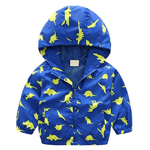 Boys Lightweight Hooded Jacket - 8