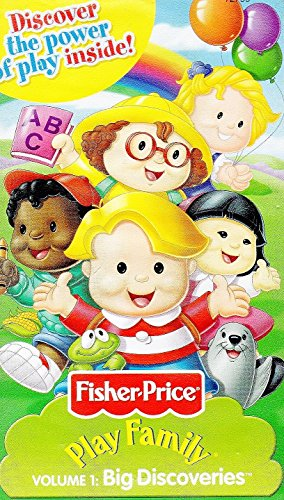 Fisher-Price Little People volume 1 Big  Discoveries [VHS]