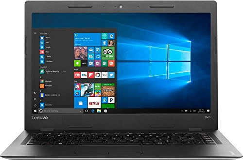 2017 Lenovo IdeaPad 14″ High Performance Laptop, Intel Celeron Dual-Core Processor, 2GB RAM, 64GB eMMC HDD, Webcam, Wireless-AC, HDMI, USB 3.0, Windows 10, 1 Year Microsoft Office 365. Only 3.15 Lb