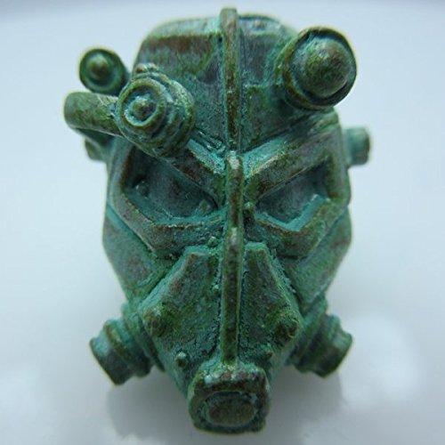 cord / Lanyard Bead in Brass w/Green Patina by Santi-Se ()