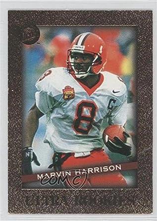 Amazoncom Marvin Harrison Football Card 1996 Fleer Ultra
