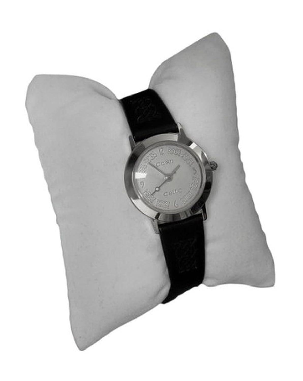 Cairn Keltischer Damen Silber Zifferblatt Armbanduhr (cc13 C)
