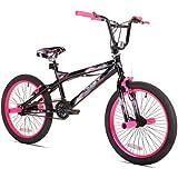 "20"" Kent Trouble BMX Girls' Bike,42031, Black/Pink"