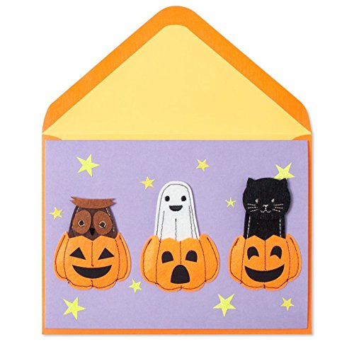 Halloween Paper Finger Puppets (PAPYRUS Costumes For Your Fingers, 1)