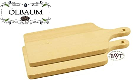 5x Frühstücksbrettchen Holz Holzbrettchen Schneidebrett Frühstücksbrett Brett