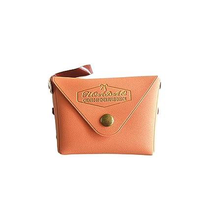 grande vendita 342fc 7c672 Walmeck- Portamonete Colore Macaron,Portafoglio da Donna ...