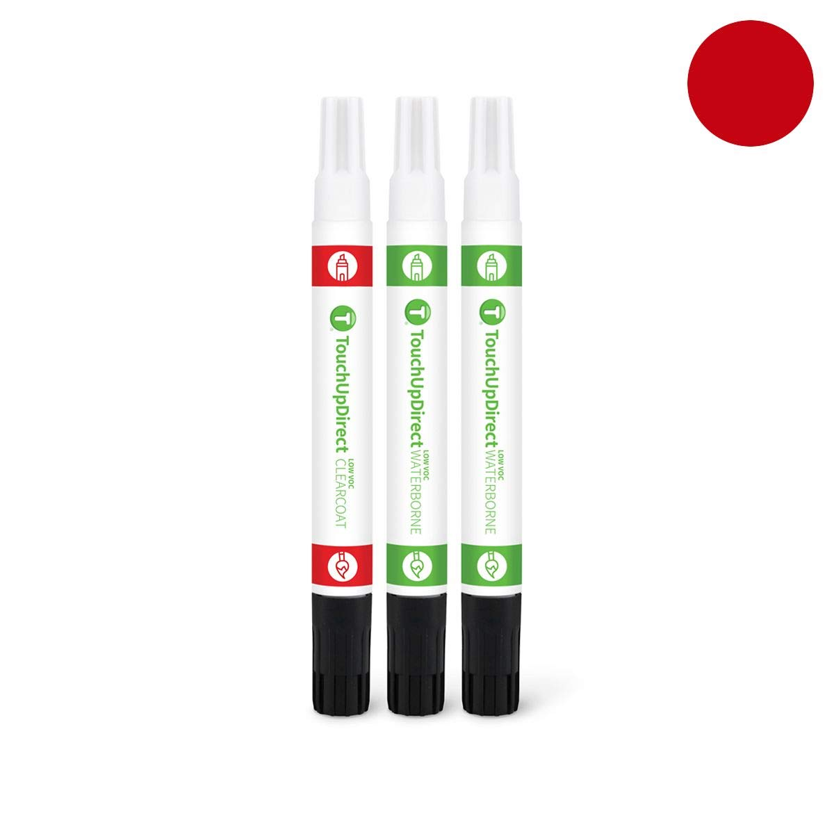 TouchUpDirect for Mazda Exact Match Automotive Touch Up Paint - Soul Red Metallic (41V) by T TouchUpDirect