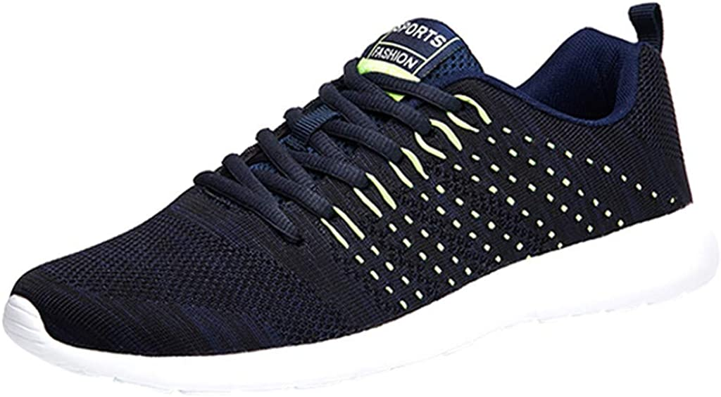 NEEKEY Women and Men Outdoor Mesh Breathable Casual Sports Shoes Lace-Up Casual Non-slip Sneaker Running Shoes