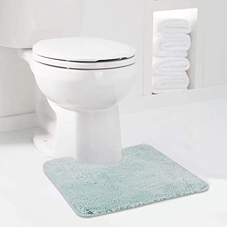 Taupe Bath Mats Set for Bathroom 2 Piece Dry Bath Rugs 20 x 20 U Shape Contour Rug /& 20 x 32 Bathroom Rug Machine Wash Non Slip