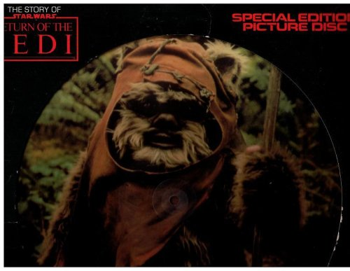 STORY OF STAR WARS: RETURN OF THE JEDI (SPECIAL EDITION PICTURE DISC WITH DIALOGUE, MUSIC & SOUND EFFECTS; 1983) by BUENA VISTA