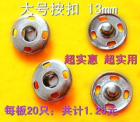 Botón de metal de alta calidad para camisa, abrigos, botones ...