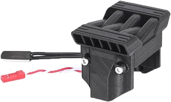 Hzjundasi ESC Calor Disipador+Ventilador(con Térmica ...
