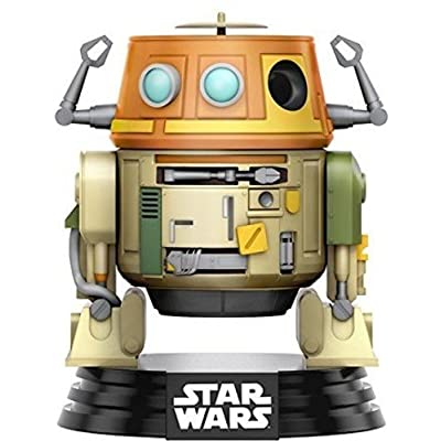 Funko 10771 Pop Star Wars Rebels Chopper Vinyl Bobble-Head Figure, 3.75-Inch: Funko Pop! Star Wars:: Toys & Games