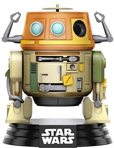 Funko 10771 Pop Star Wars Rebels Chopper Vinyl Bobble-Head Figure, (Chopper Pop)