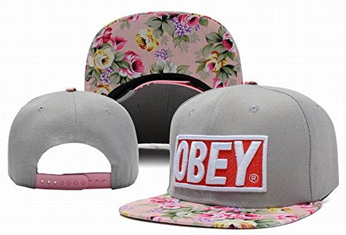 Generic Obey Floral Snapback Black Same Style Caps - Buy Online in Oman.  83e3d330aad2