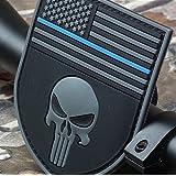Multicam The Thin Blue Line Devgrusealteam Punisher American Flag Devgru Sealteam Tactical Velcro Patch by Maggie's Gift